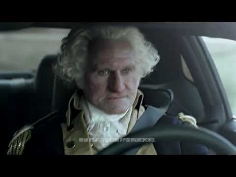 "[HD] Dodge Challenger - George Washington ""Freedom"" American Revolutionary War Ad"