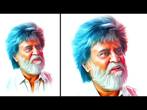 Digital Painting Colorful Effect In Photoshop Cc Tutorials