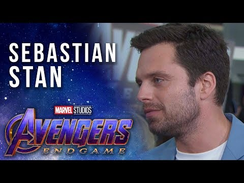 Sebastian Stan talks the end of the line LIVE at the Avengers: Endgame Premiere