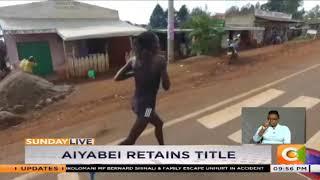 Valery Aiyabei retains Safaricom Iten marathon title