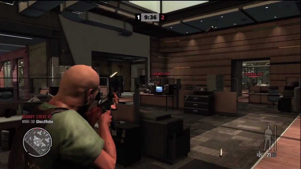 Max Payne 3 Multiplayer Gameplay Live Online 2 Free For All