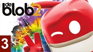 De Blob 2 - Part 3 Let's Play walkthrough (XBOX360/PS3/)