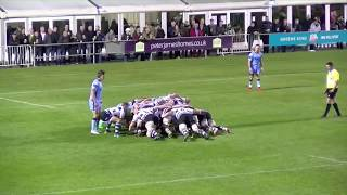 Trylights - Nottingham Rugby v London Scottish