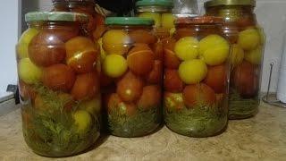Консервированные помидоры с..... МОРКОВНОЙ БОТВОЙ!!!