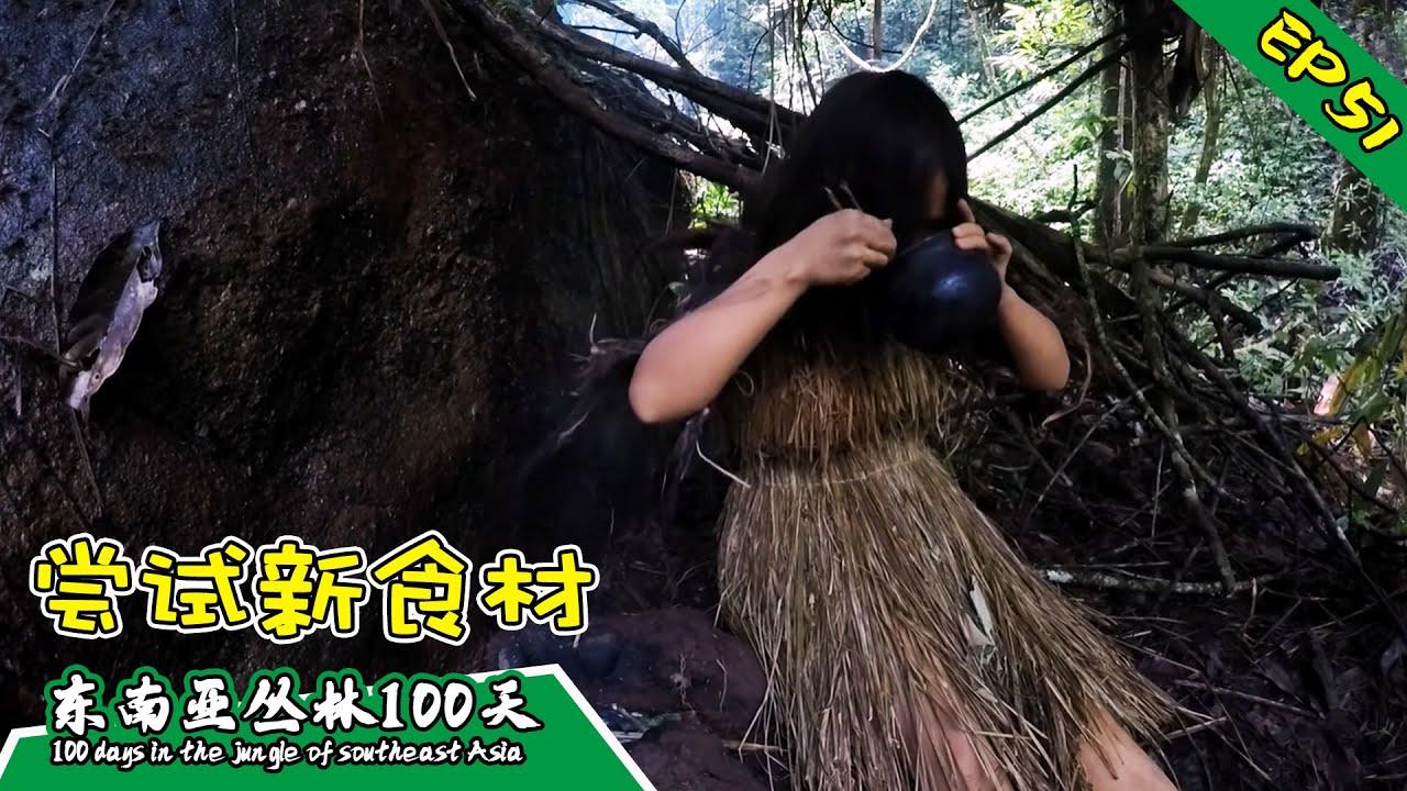 EP51 扩充新食谱:榼藤子,是福还是祸?丨挑战丛林生存100天 DAY34-35