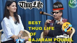 Rajaram Poudel Best  ThugLife Video