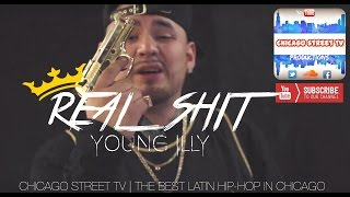 Young Illy - Real Shit (Chicago Latin Kings Rap) Chicano Rap 2015 Chicago Street TV