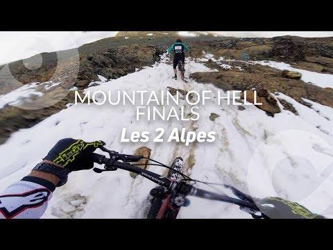 MOUNTAIN OF HELL FINALS, Kilian Bron full run (3rd), Les 2 Alpes, France