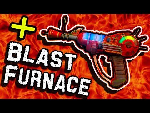 How To Put BLAST FURNACE on The  R A Y G.  U.  N.