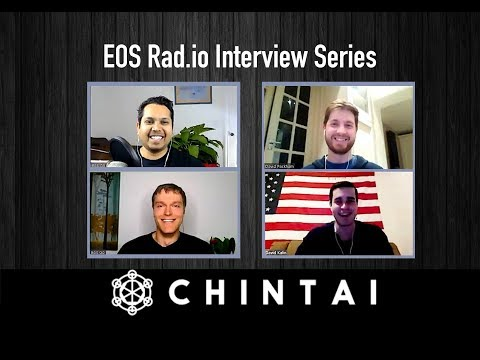 Chintai Interview  - EOS Go Live - Episode 7 On EOSRad.io #blockchain #ico #eos