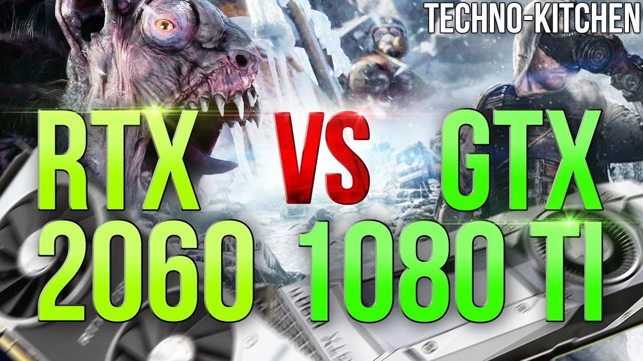 rtx 2060 vs 1080 4k