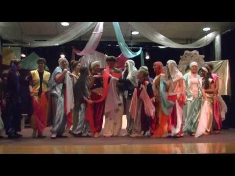 Burlington High School Wyoming Aladdin Musical 4.28.17