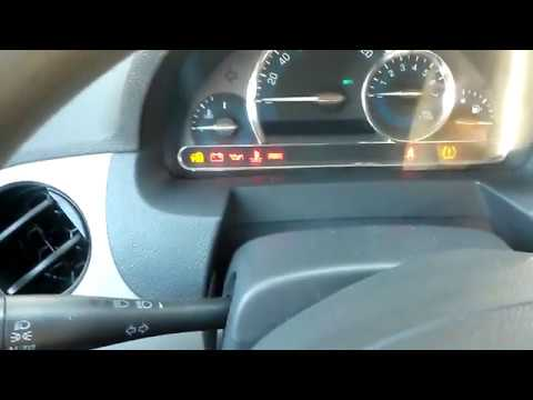 How To Reset Oil Life On 2008 Chevy Hhr Easy Youtube