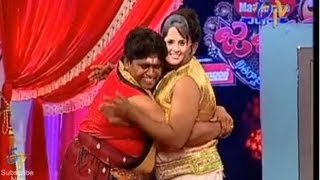 Jabardasth - Roller Raghu Performance on 18th April 2013