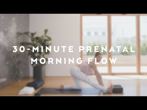 30-Minute Alo Yoga Pre-Natal Morning Flow with Andrea Bogart