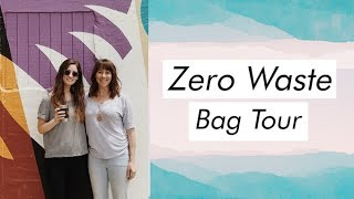 What's in a Zero Waste Bag + Tips for Getting Started featuring Andrea from Be Zero