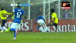 Brazil vs Colombia - Copa America 2015 - FULL MATCH  - 17 junio 2015