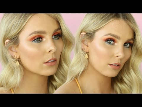 GLAM HOLIDAY MAKEUP | GET READY WITH ME USING PRODUCTS CREATED BY MAKEUP ARTISTS | RACHAEL BROOK