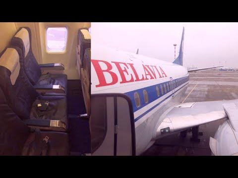 Minsk - Warsaw on Belavia Belarusian Airlines Boeing 737-500 (EW-294PA)