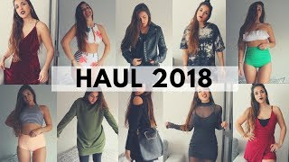 SUPER TRY-ON HAUL 2018 | ROMWE, SHEIN, CHICUU 🛍