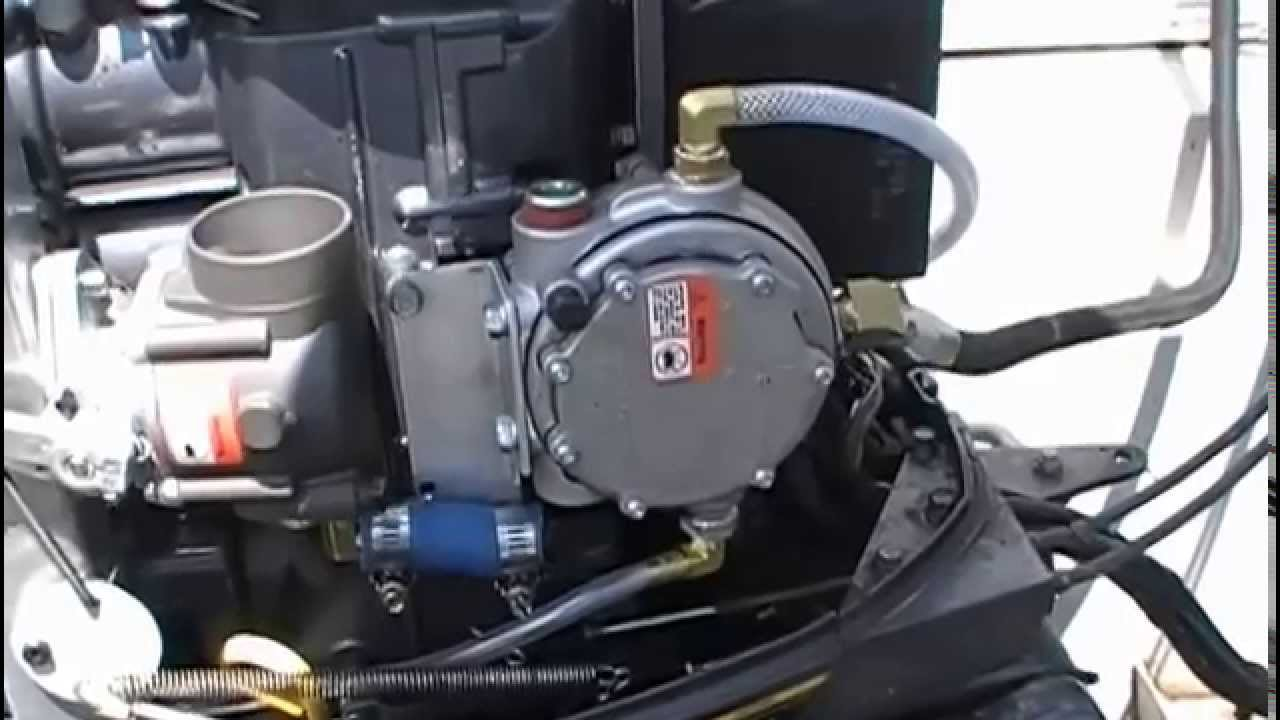 Yamaha Propane Conversion