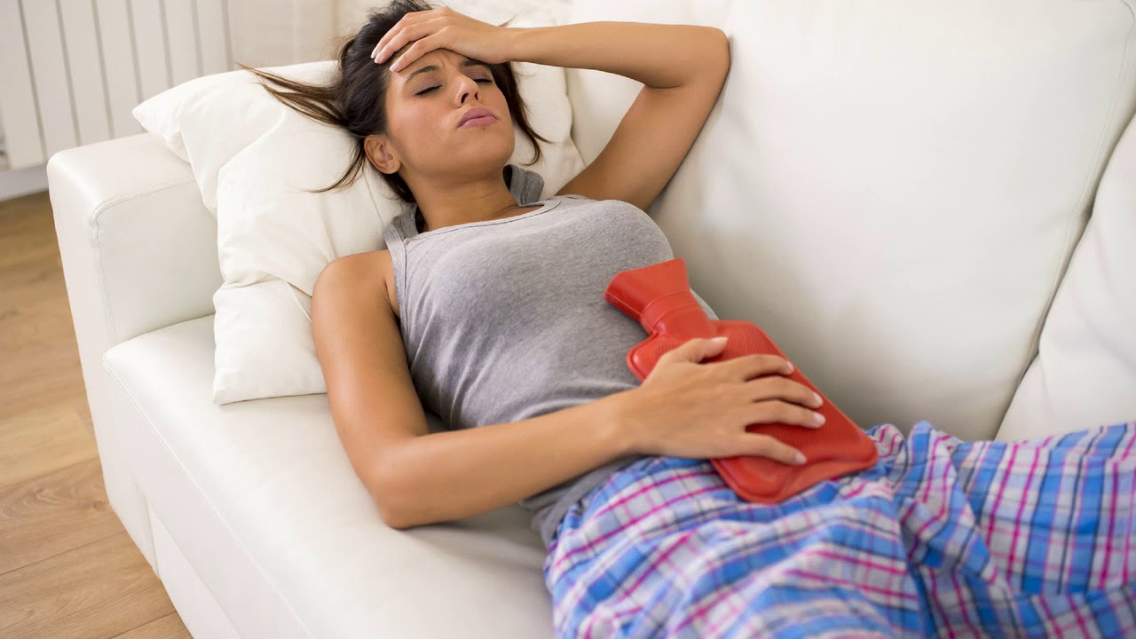 Причины болезненных месячных