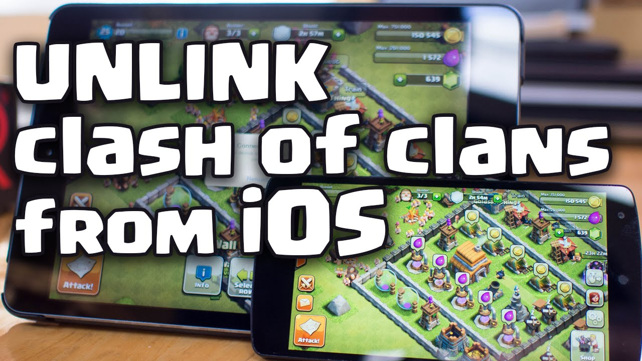 clash of clans backup iphone