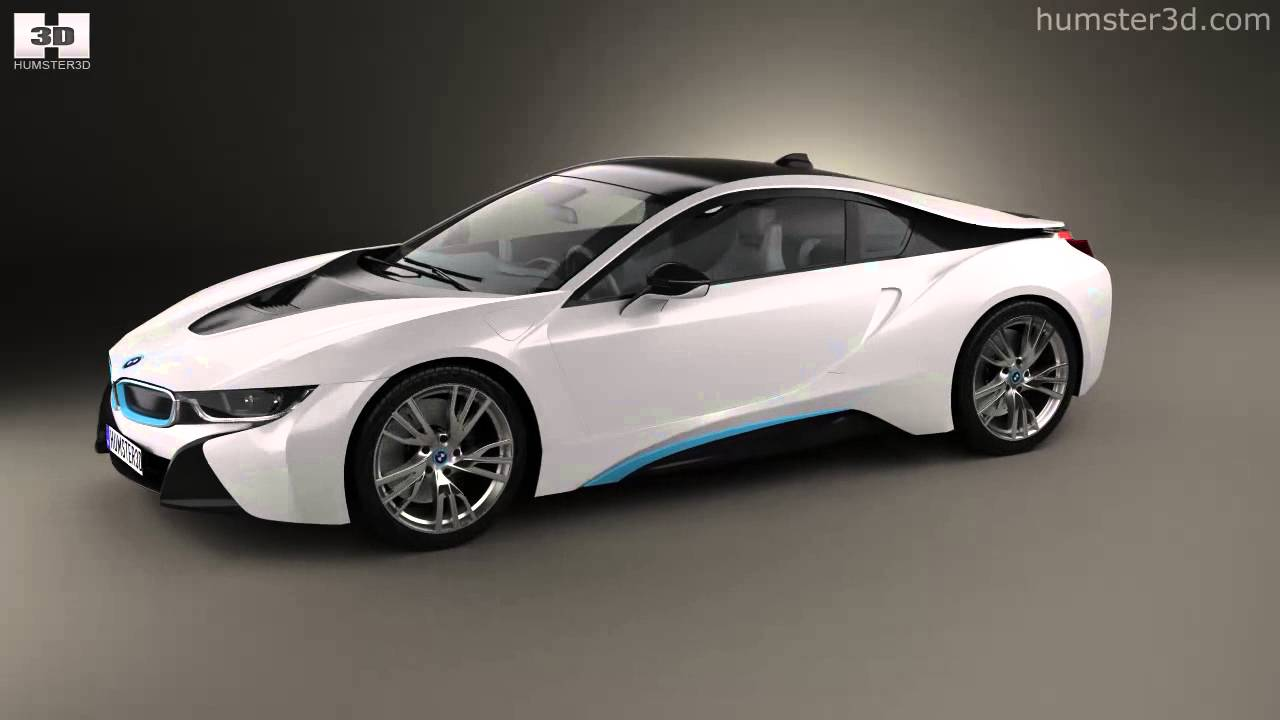 Bmw I8 2014 By 3d Model Store Humster3d Com Youtube
