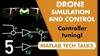 Drone Simulation and Control, Part 5: Tuning the PID controller