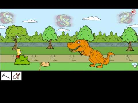 Bart Simpson Saw Game 2 Walkthrough