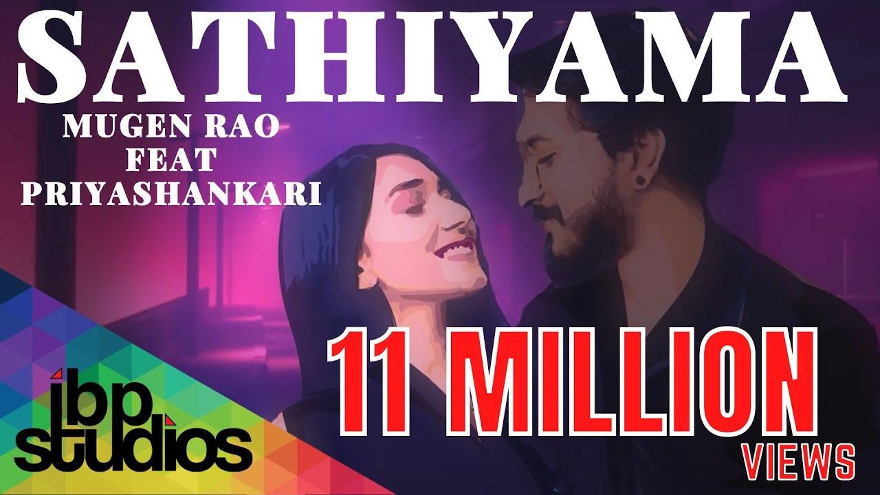 Download Sathiyama - Mugen Rao feat. Priyashankari ( Official Art Based Music Video )