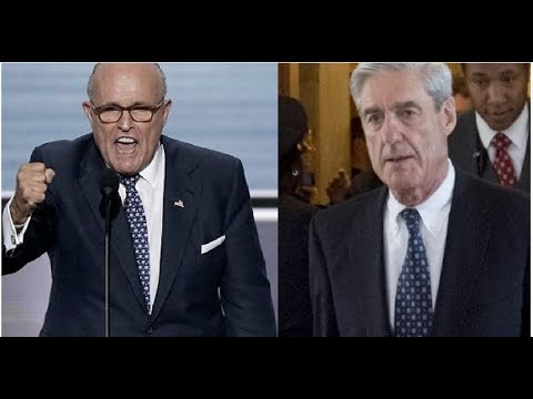 LOOK HOW QUICKLY GIULIANI IS VOWING TO END MUELLER'S WITCH HUNT!