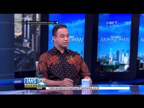 Talk Show bersama Menteri Pendidikan dan Kedudayaan Anies Baswedan - IMS