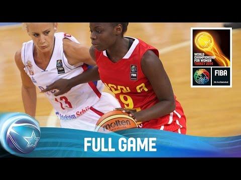 Serbia v Angola - Full Game - Group D - 2014 FIBA World Championship for Women