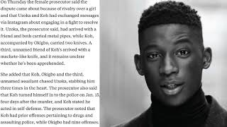 SMH... | HARRY UZOKA WAS STABBED OVER A GIRL DISPUTE?!