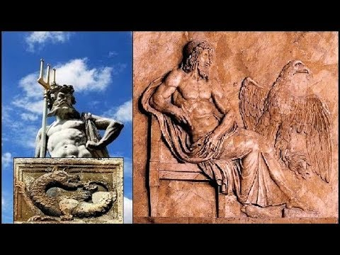 War of the Eagle and Serpent Gods - Enlil and Enki, Mesopotamian Tablets