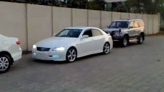 Toyota Mark X Auto Park (swearing Muted)