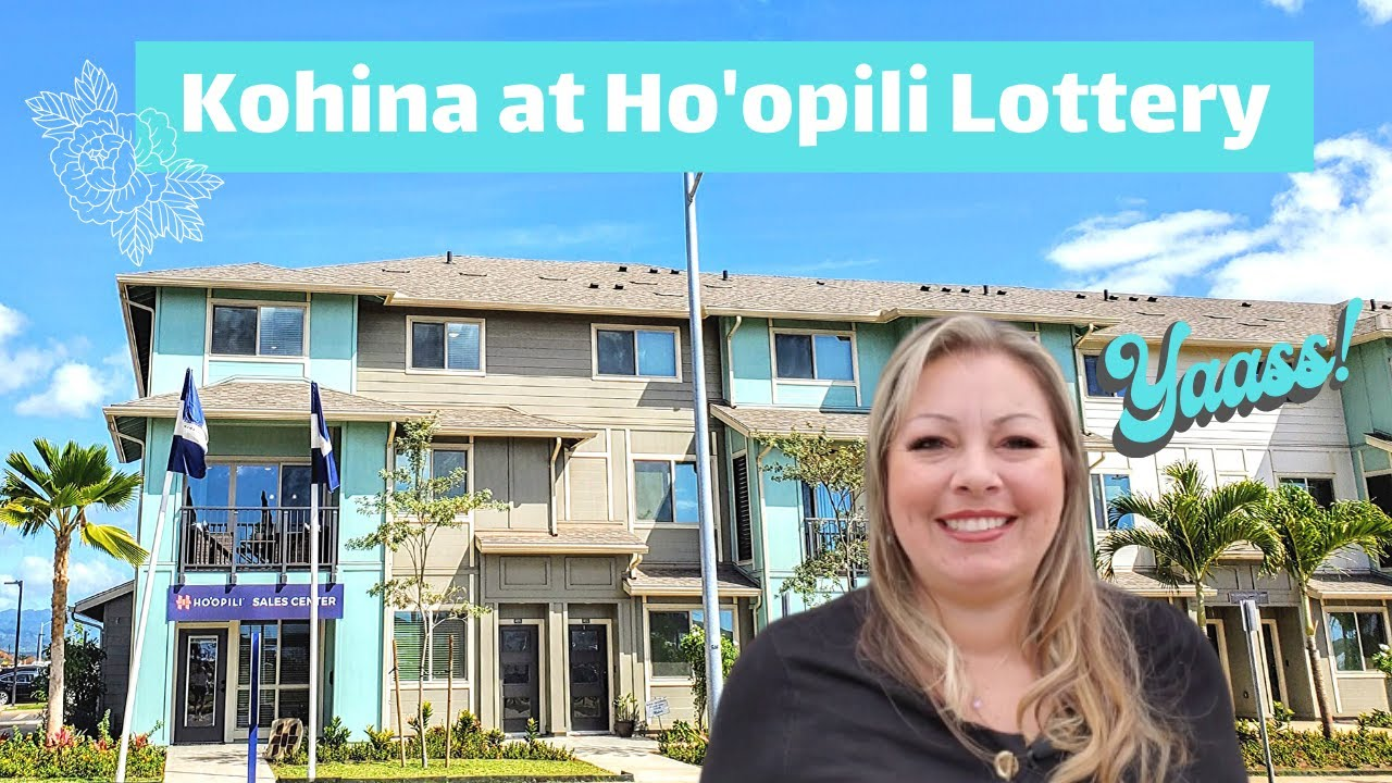 Kohina at Ho'opili Lottery | New Construction Homes Oahu