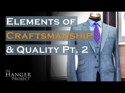 MyTailor Bespoke Shirt  Elements of Craftsmanship & Quality Pt.2