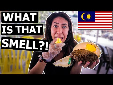 Trying DURIAN for the FIRST TIME in Kuala Lumpur, Malaysia!!!