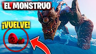 "The Monster Returns to the Map and The Eggs ""Secrets Of Time Travel"" Fortnite Battle Royale"