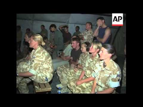 wrap-us,-uk-troops-watch-usa--england-match,-kabul,-helmand
