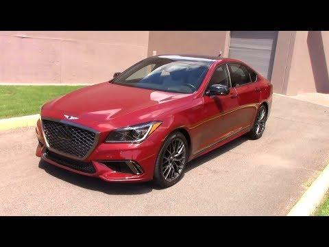 2018 Genesis G80 Sport Test Drive Fuel Economy
