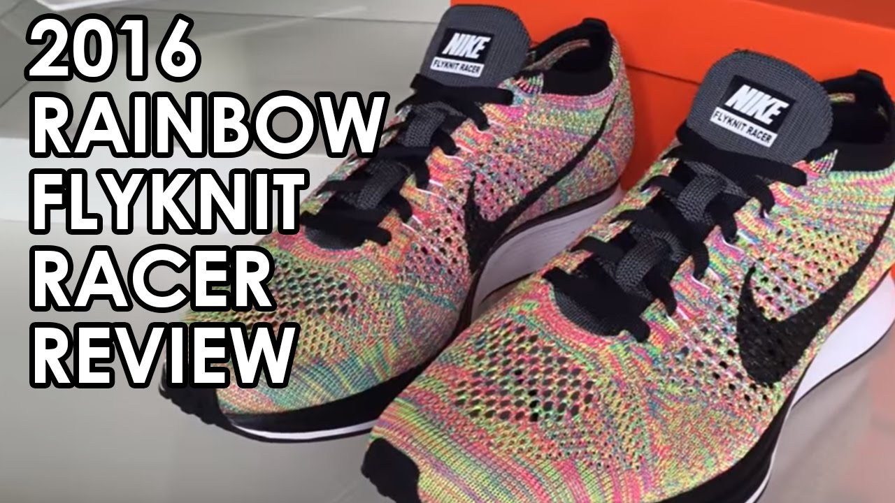 4639d6516c33 ... sweden on foot nike flyknit racer multicolor 2016 grey tongue review  youtube bc463 99fcb