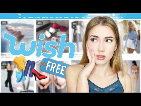 Wearing A Full Outfit of Free Wish Items!! | (Head to Toe)