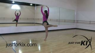Attitude Turn Tutorial and Demonstration from Just For Kix