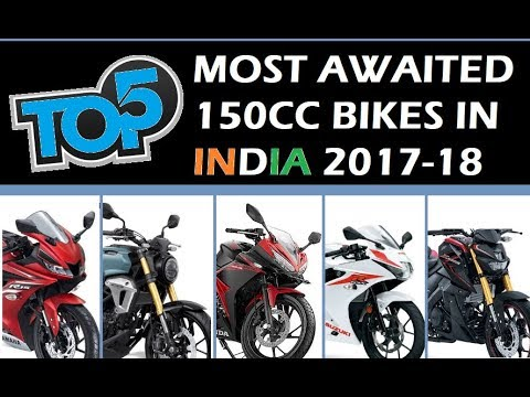 Top 5 Most Awaited 150cc Bikes in India 2017-2018