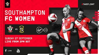 LIVE: Southampton FC Women vs Buckland Athletic