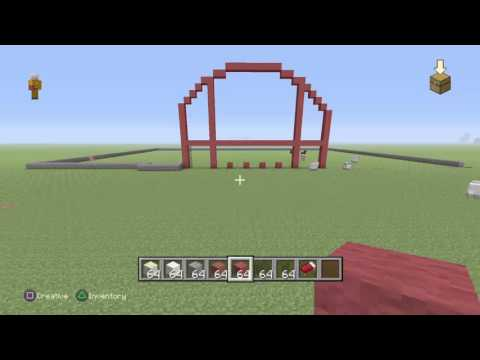 Minecraft building a target store