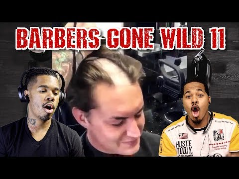 BARBERS GONE WILD REACTION 11